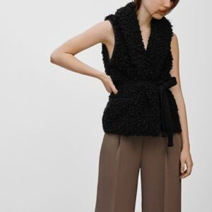 Wilfred Jackets & Coats - Wilfred Black Courcelle Vest